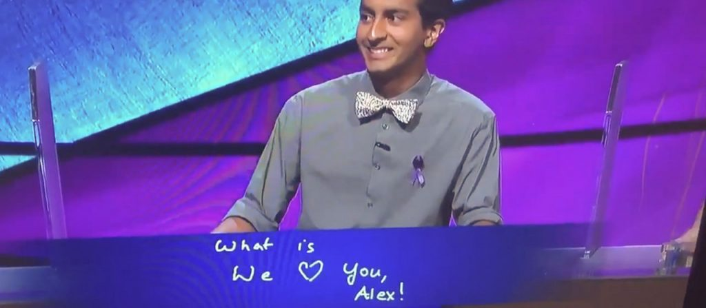 Dhruv Gaur answers 'We love you, Alex!'