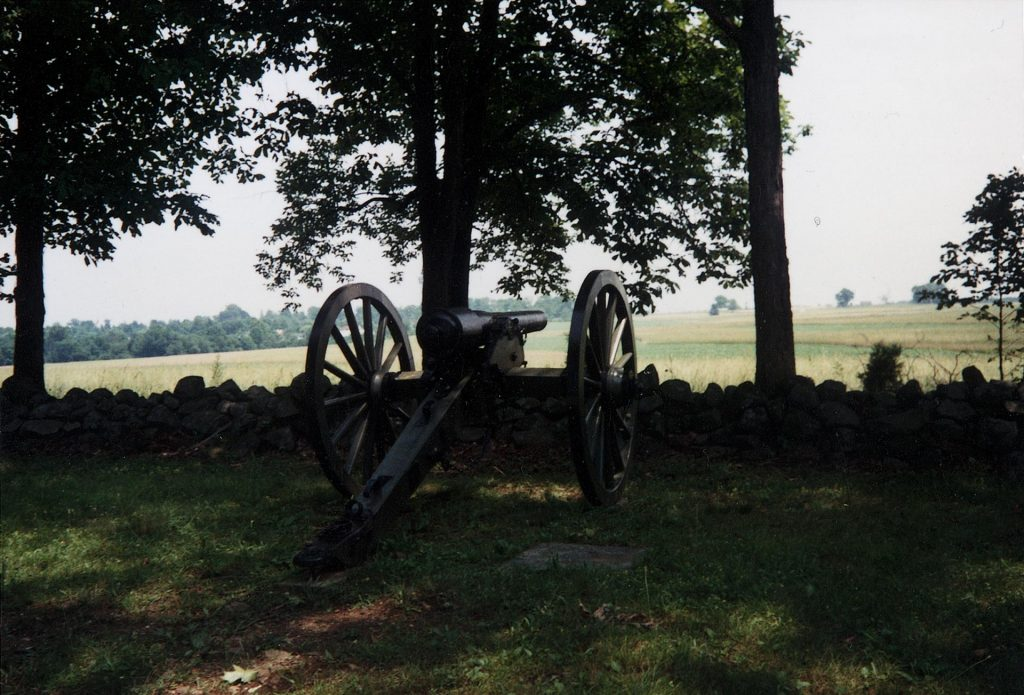 Cannon in Gettysburg National Military Park