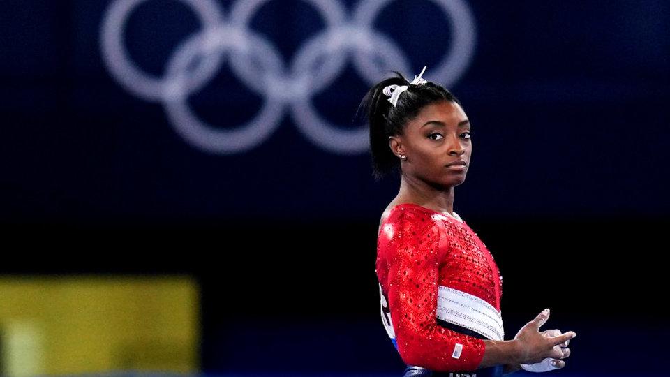 Simone Biles Olympic gymnast